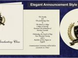 Graduation Invitations Masters Degree the Master 39 S College Graduation Announcements the Master