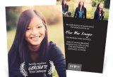Graduation Invitations with Photos Rest On Your Laurels Vertical Graduation Announcements