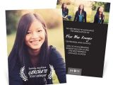 Graduation Invitations with Photos Rest On Your Laurels Vertical Graduation Announcements