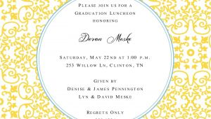 Graduation Lunch Invitation Graduation Invitation Lunch Just B Cause