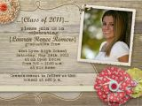 Graduation Open House Invitations Rustic Graduation Open House Invitation by Gwenmariedesigns