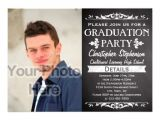 Graduation Paper for Invitations Rustic Slate Vintage Custom Graduation Party Photo 5×7