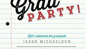 Graduation Paper for Invitations School Paper Graduation Invitation Graduation Invitations