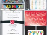 Graduation Party Invitation Kits Deluxe Graduation Invitation Kit Ziggos Com