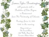 Graduation Party Invitation Messages Graduation Party Invitation Wording Cimvitation