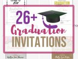 Graduation Party Invitations for Two 26 Graduation Party Invitations for High School or
