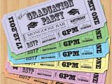 Graduation Party Invitations Ideas Ticket Idea Graduation Party Invitations Vintage Ticket
