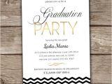 Graduation Party Invitations Wording Graduation Party Invitation Printed Summer Party