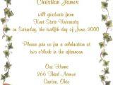 Graduation Party Invitations Wording Graduation Party Invite Wording – Gangcraft