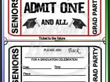 Graduation Party Ticket Invitations Graduation Party Invitations Graduation Party Ticket