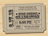 Graduation Party Ticket Invitations Graduation Party Party Invitation Diy by Kristenmcgillivray