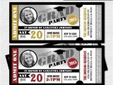 Graduation Party Ticket Invitations Graduation Party Ticket Invitations Class Of 2016 Grad