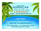 Graduation Pool Party Invitation Ideas Graduation Pool Party 5×7 Paper Invitation Card