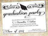 Graduation Reception Invitations Unique Ideas for College Graduation Party Invitations