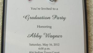 Graduation Wording for Invites College Graduation Party Invitations Party Invitations