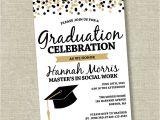 Graduation Wording for Invites Graduation Invitation College Graduation Invitation High