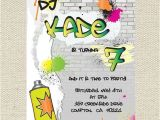 Graffiti Birthday Invitations Pinterest • the World's Catalog Of Ideas