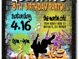 Graffiti Birthday Party Invitations Graffiti 80s Old School Hip Hop Birthday Invitations [di