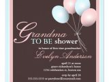 Grandma Baby Shower Invitations Personalized Grandmother Baby Shower Invitations