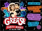 Grease Party Invites Grease Party Invitations Cimvitation