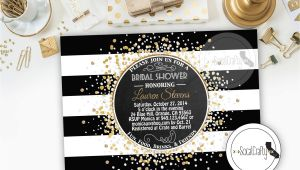 Great Gatsby Bridal Shower Invitations Bridal Shower Invitation Great Gatsby Printable by socalcrafty