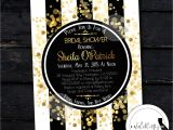 Great Gatsby Bridal Shower Invitations Great Gatsby Bridal Shower Invitation Roaring 20 39 S by