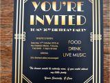 Great Gatsby Holiday Party Invitations Gatsby Party Invites Gypsy soul