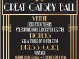 Great Gatsby Holiday Party Invitations Great Gatsby Holiday Party Invitations Awesome Magnificent