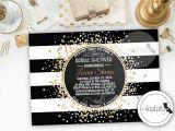 Great Gatsby themed Bridal Shower Invitations Bridal Shower Invitation Great Gatsby Printable by socalcrafty