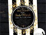 Great Gatsby themed Bridal Shower Invitations Great Gatsby Bridal Shower Invitation Roaring 20 S by