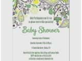 Green and Yellow Baby Shower Invitations Baby Shower Invitation Awesome Green and Yellow Baby