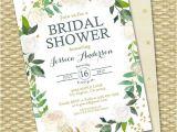 Green Bridal Shower Invitation Wording Green Bridal Shower Invitations Cobypic