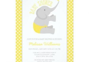 Grey and Yellow Baby Shower Invites Yellow Baby Shower Invitations Babyshowerinvitations4u