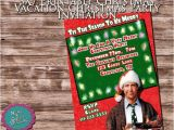 Griswold Christmas Party Invitations 5 X 7 Printable Christmas Vacation Christmas Party