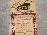 Griswold Christmas Party Invitations Christmas Vacation Invitation Griswold Christmas Party