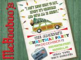 Griswold Christmas Party Invitations Griswold themed Christmas Vacation Holiday Party Invitation On