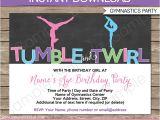 Gymnastics Party Invitations Free Printable Free Printable Gymnastic Birthday Invitations