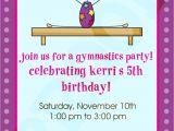 Gymnastics Party Invitations Free Printable Free Printable Gymnastic Birthday Invitations Updated