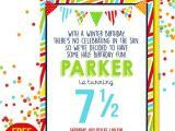 Half Birthday Party Invitations Items Similar to Half Birthday Party Invitation