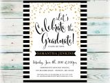 Hallmark Invitations Graduation Classic Graduation Party Invitation Digital File