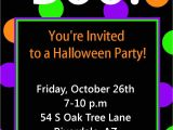 Halloween Birthday Party Invite Templates Free Printable Halloween Party Invitations Templates
