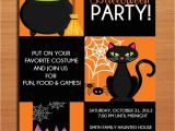 Halloween Birthday Party Invite Templates Halloween Party Invitation Ideas Festival Collections