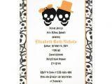 Halloween Bridal Shower Invitations Elegant Skulls Halloween Wedding Bridal Shower 5×7 Paper