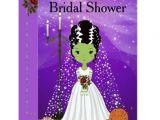 Halloween Bridal Shower Invitations Halloween Bridal Shower Invitation Frankenstein