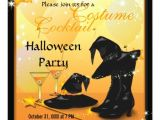 Halloween Cocktail Party Invitation Enchanting Cocktail Witches Halloween Party Invite