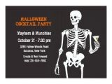 Halloween Cocktail Party Invitation Halloween Cocktail Party Invitation