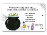 Halloween Cocktail Party Invitation Halloween Cocktail Party Invitations