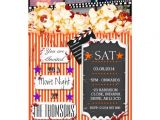 Halloween Movie Party Invitations Custom Halloween Horror Movie Night Invitation