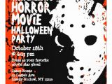 Halloween Movie Party Invitations Horror Movie Halloween Party Invitation