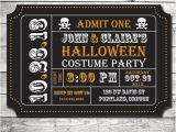 Halloween Movie Party Invitations Items Similar to Halloween Party Invitation Diy Digital